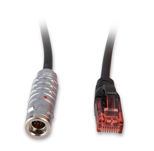 Ethernet cable, general purpose, 5 m, IP65