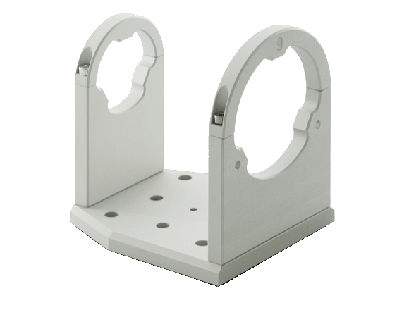 CMHO clamping support for telecentric lenses