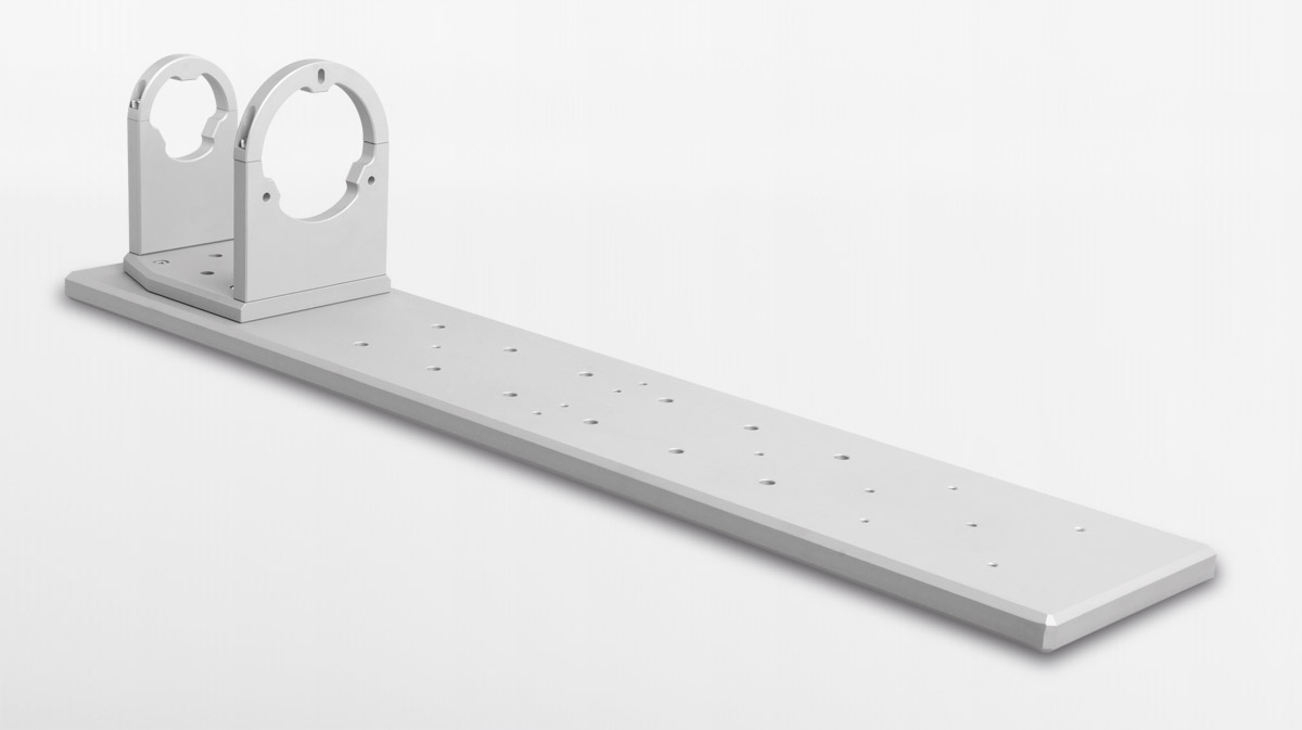 CMPT base plate with CMHO clamping support