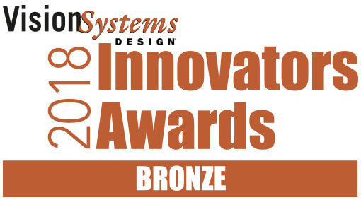 Vision Systems Design 2018 Bronze Innovators Award