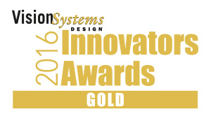 Vision Systems Design 2016 Golden Award