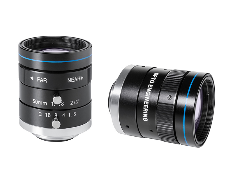 Fixed focal 2 Megapixel lens, focal length 50 mm, f# 1.8 - C, C-mount