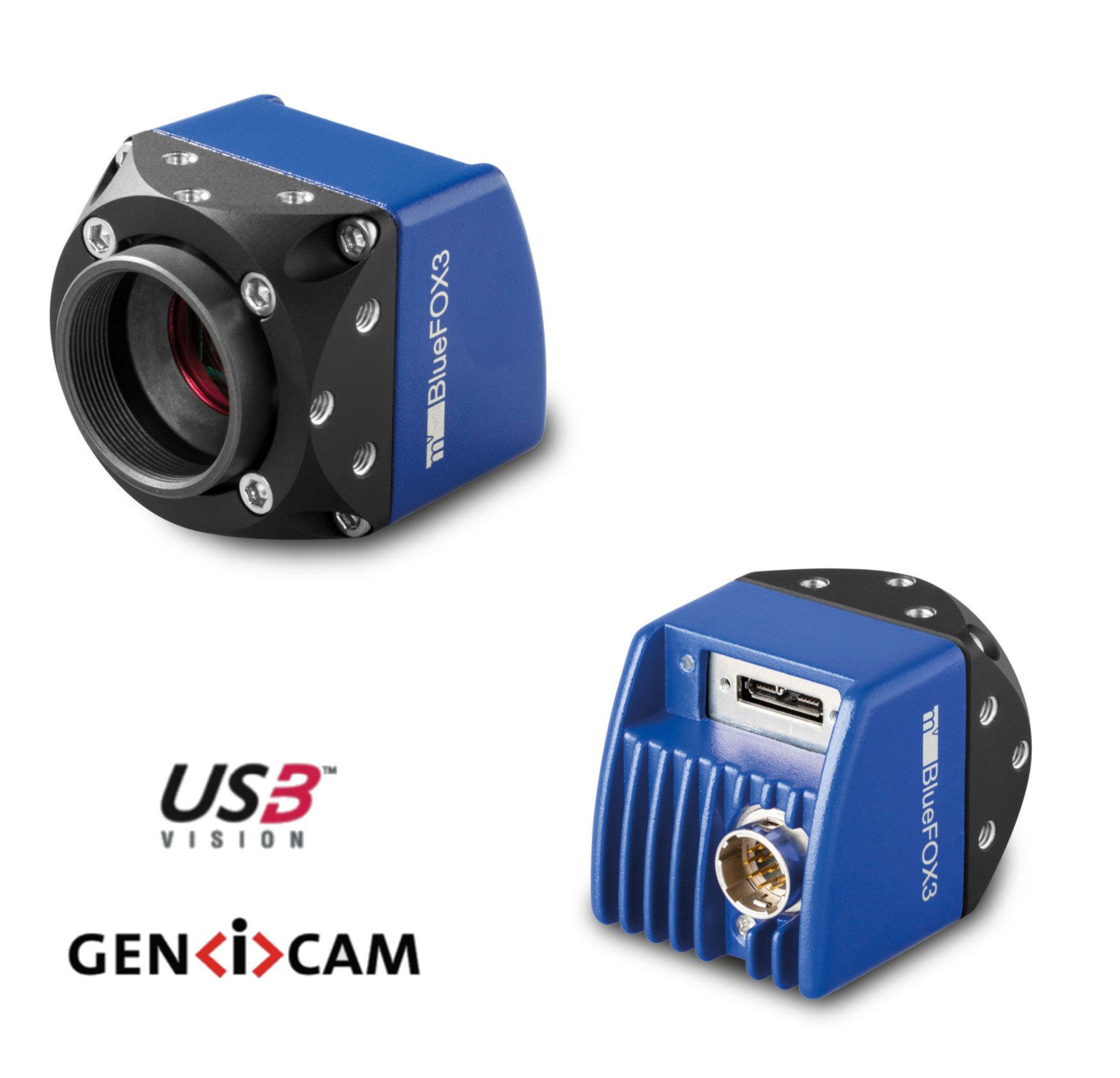 "CMOS camera USB3, 2464 x 2056 color 2/3"", 35.6 Hz, IR cut, C-mount, with I/O"