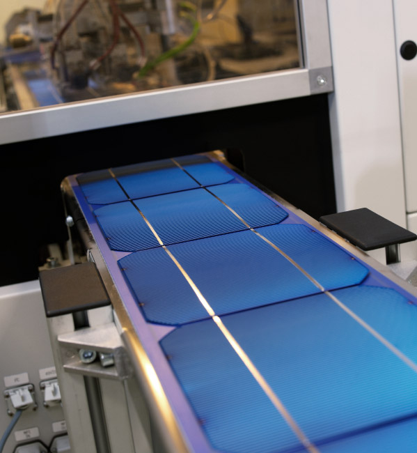 Solar cell inspection