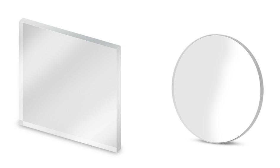 Customized protective windows and mirrors