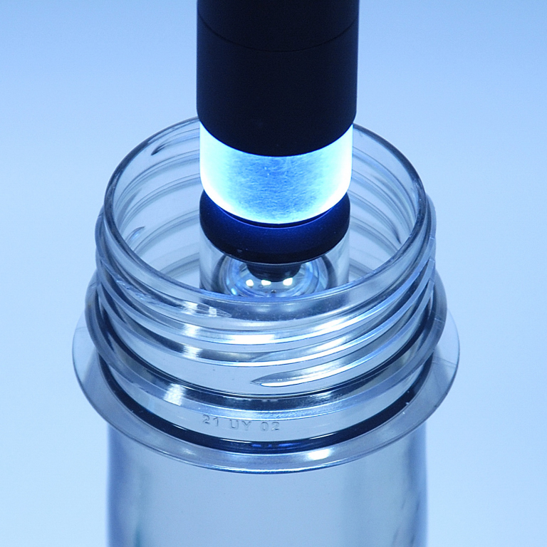 Output image of PCBP inspecting a bottle neck