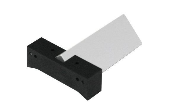 Right angle prism, legs 33.3 mm, H 72 mm, mirror coating